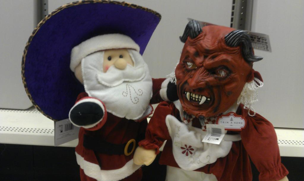 Pimping Santa Getting Evil With Mrs. Claus