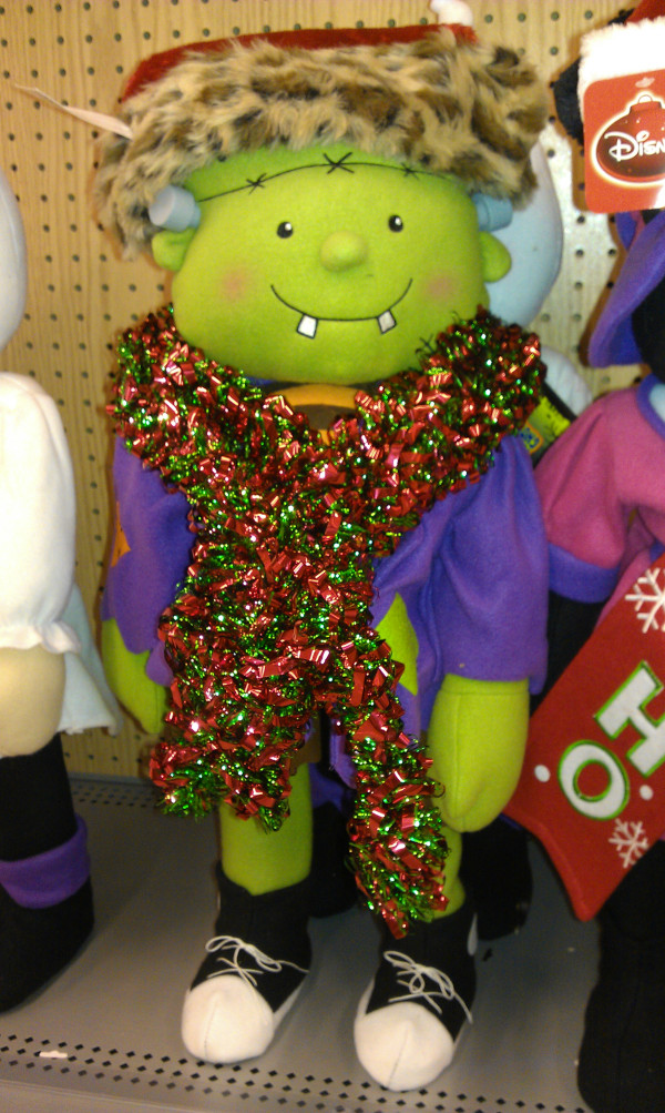 Frankenstein Doesn't Want Christmas Before Halloween