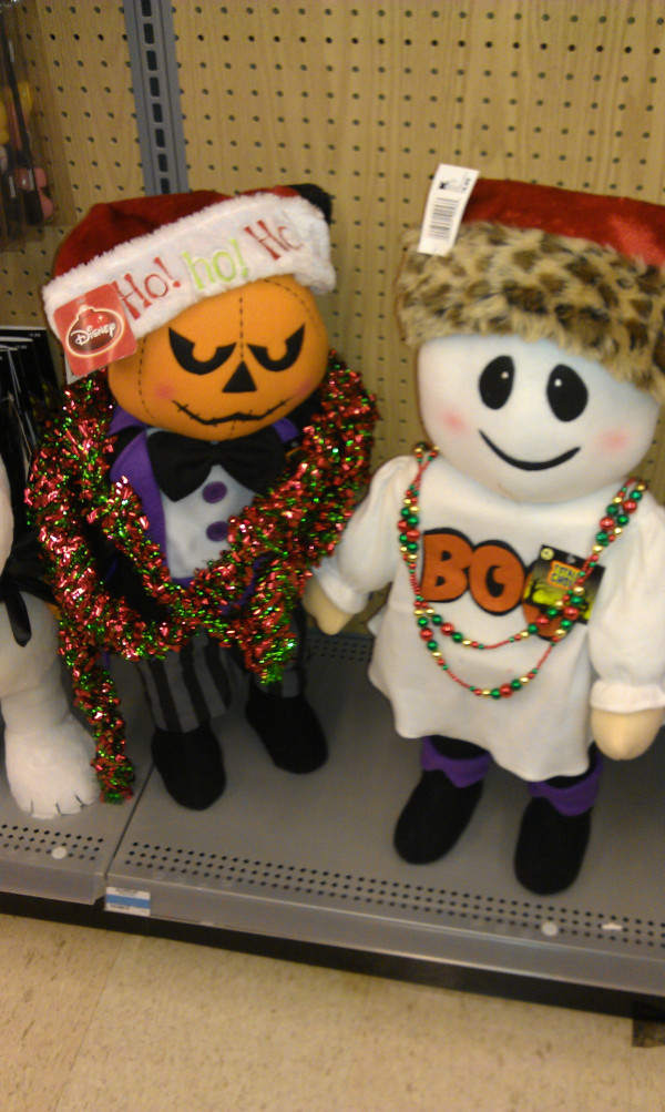 Let's Go Trick Them Into Putting Christmas Before Halloween!