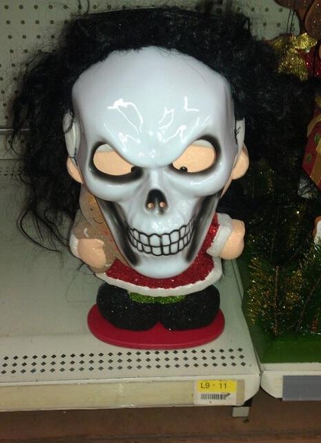 Mrs. Claus At Walmart