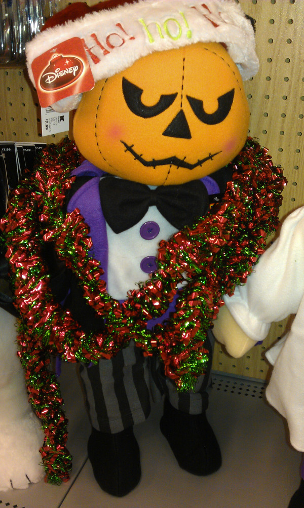This is Halloween but stores think its Christmas