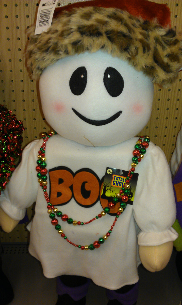 Boo Hoo... Stores Think Christmas Comes Before Halloween!