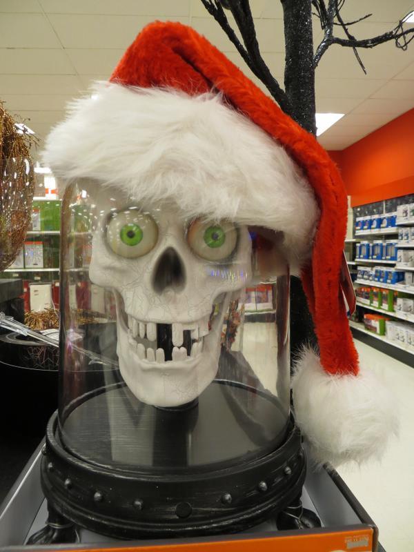 Santa Skull - Target