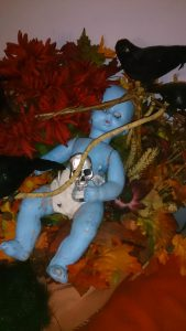 Baby Blue Halloween