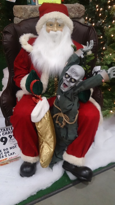 Christmas Halloween Ghoul