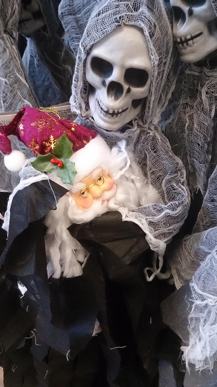 Reaper Takes Santa's Head