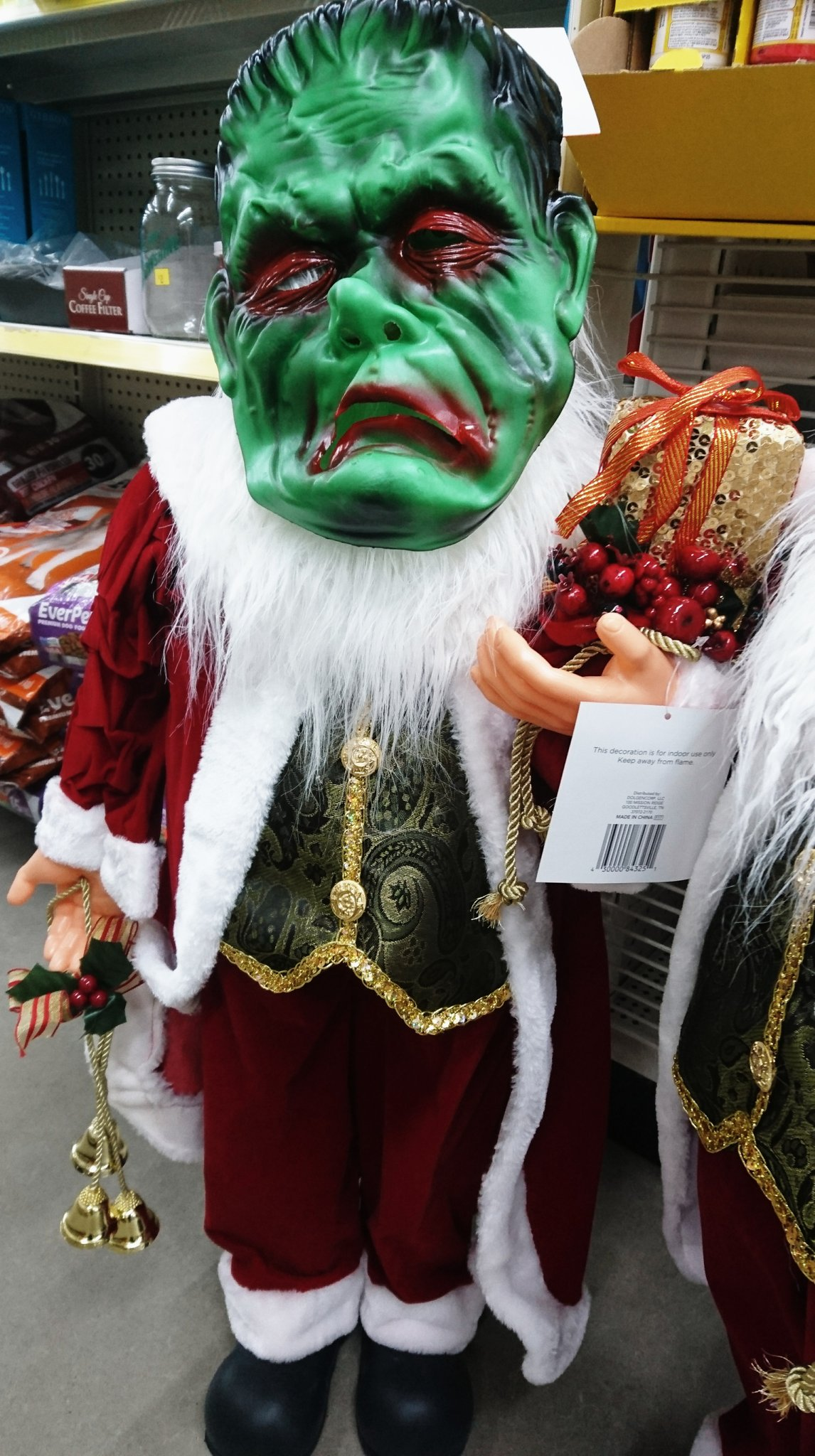 FrankenSanta Dollar General Ohio