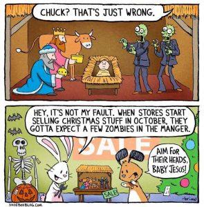 Xmas Before Halloween